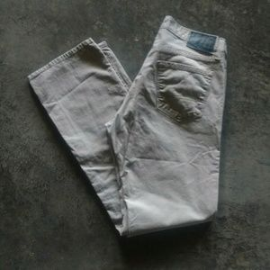 Denizen Beige 218 Slim Straight Jeans 32